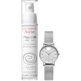 Avene PhysioLift crema de zi 30 ml +Cadou ceas Avene