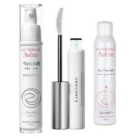 Avene PhysioLift Emulsie 30ml+Apa Termala 50ml+Mascara 3ml