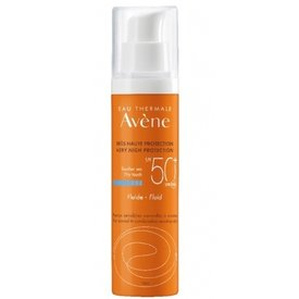 Avene SPF50 Fluid Dry Touch Ten Normal Mixt 50ml