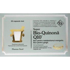 Bio-Quinonă Q10 30 capsule moi
