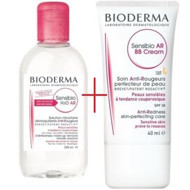 Bioderma Sensibio AR BB crema 40ml+Sensibio H2O AR 250ml