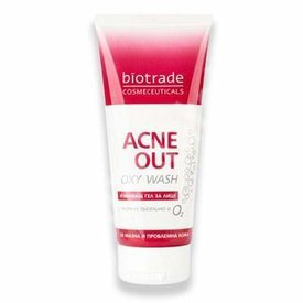 Biotrade Acne Out Oxy Wash Gel de Curatare Ten Acneic 200ml