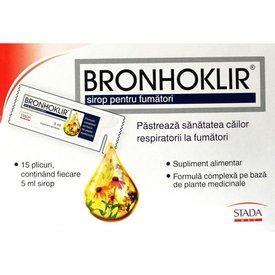 Bronhoklir sirop 15 plicuri x 5 ml