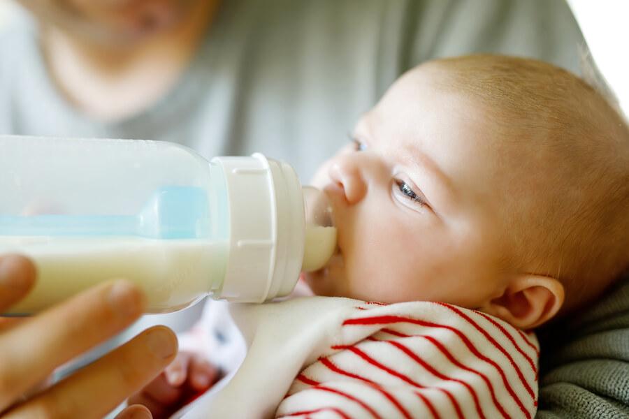 Alaptarea cu laptele praf Topfer LActana