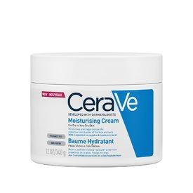 CeraVe Cremă hidratantă pentru față și corp, piele uscată și foarte uscată 340 gr