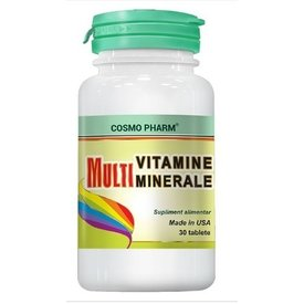 Cosmo Pharm - MultiVitamine Minerale, 30 tablete