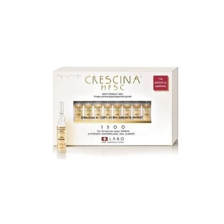 Crescina Re-growth HFSC 1300 pentru Femei 20 fiole
