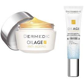Dermedic Oilage crema noapte 50gr+Oilage crema de ochi 15gr