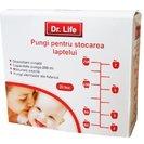 Dr.Life pungi pentru stocarea laptelui 20X200ml