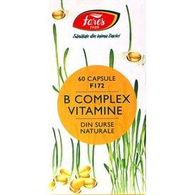 Fares - F172 - B Complex Vitamine Naturale , 60 capsule