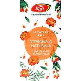 Fares - Vitamina A naturală - F161, 30 capsule
