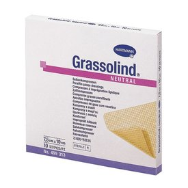 Grassolind Neutral 10 x 20cm x 10 comprese