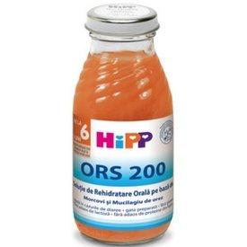 Hipp Ors Solutie de rehidratare Morcov si Mucilag de orez 200 ml