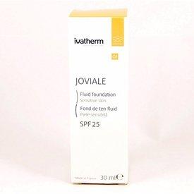 Ivatherm Joviale 01 Fond de Ten Fluid Spf 25 30ml