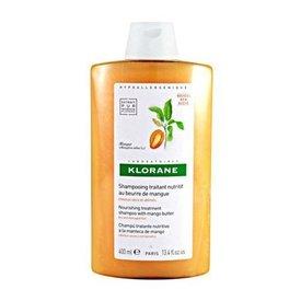 Klorane Şampon cu Unt de Mango pentru Par Uscat si Deteriorat 400ml