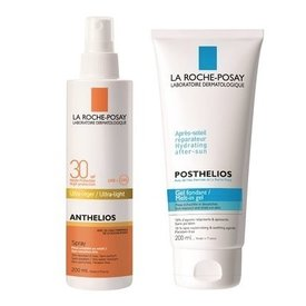 LA ROCHE POSAY ANTHELIOS SPF 30+ SPRAY 200ML + POSTHELIOS 200 ML