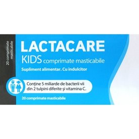 LACTACARE KIDS 20 cpr masticabile