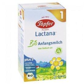 Lactana 1 Lapte Praf Degresat pentru Sugari (de la nastere pana in luna a 6-a) 600g