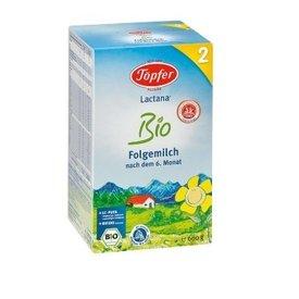 Lactana 2 Lapte Praf Degresat pentru Copii de Varsta Mica (dupa luna a 6-a pana in luna a 10-a) 600g