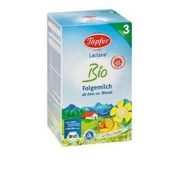 Lactana 3 Lapte Praf pentru Copii de Varsta Mica (dupa luna a 10-a pana la varsta de 2 ani) 600g