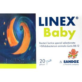 LINEX BABY 20 plicuri