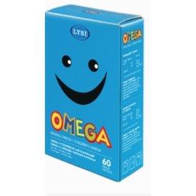 Lysi Omega 3 copii  60 capsule