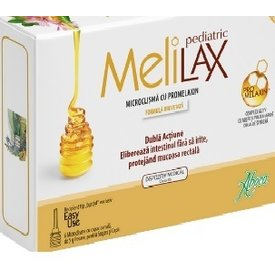 Melilax pediatric 6 microclisme 5 grame