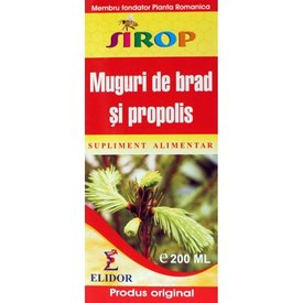 Muguri de brad și propolis sirop 200 ml