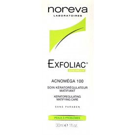 Noreva Exfoliac - Acnomega 100, 30 ml