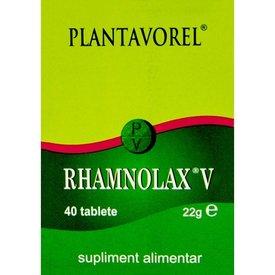 Plantavorel - Rhamnolax V, 40 tablete