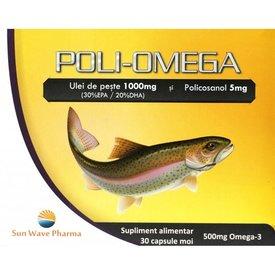 Poli-omega, 30 capsule moi
