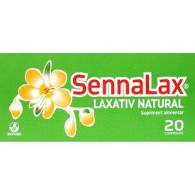 SennaLax - Laxativ natural, 20 comprimate