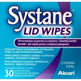 Systane Lid Wipes, 30 şerveţele hipoalergenice şi neiritante