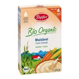Topfer Organic din porumb cu morcovi (dupa a 4-a luna) 175gr