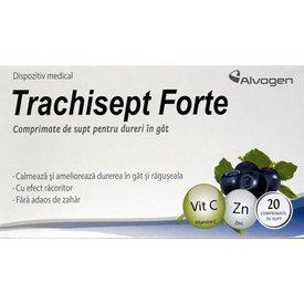 Trachisept Forte 20 comprimate de supt