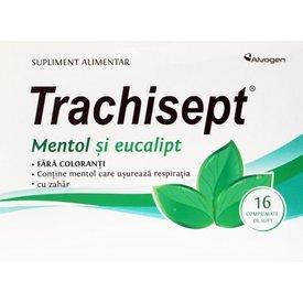 Trachisept Mentol și Eucalipt 16 comprimate de supt