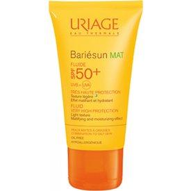 Uriage Bariesun Fluid Mat Spf 50+ 50ml + Apa Micelara Ten Mixt-Gras 100ml Cadou
