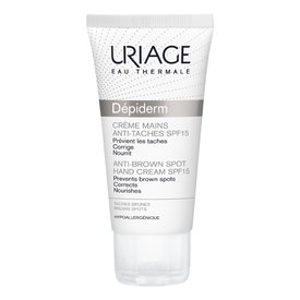 Uriage Depiderm Crema de Maini Anti-pete SPF 15  50ml