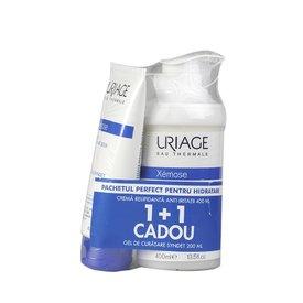 Uriage Xemose Crema Relipidanta Anti-iritatii 400ml +  Xemose Syndet Gel de Curatare 200ml Cadou