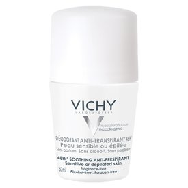 Vichy Deodorant Roll-on 48h Fără Parfum 50ml