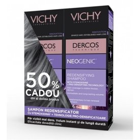 Vichy Dercos Neogenic Sampon Redensificator 2 x 200ml