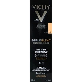 VICHY DERMABLEND 3D Correction, Fond de ten corector 25 (Nude) 30ml