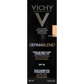 VICHY DERMABLEND 3D Correction Fond de ten corector 35 (Sand) 30ml