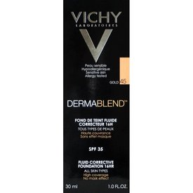 VICHY DERMABLEND  Fond de ten Fluid Corector  45 (Gold) 30ml