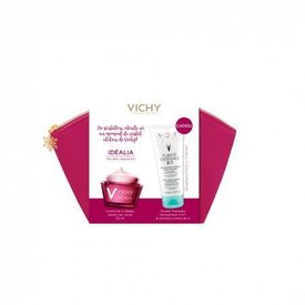 Vichy Idealia Crema Ten Uscat 50ml + Purete Thermale Demachiant 3 in 1 100ml