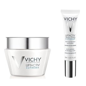 Vichy Liftactiv Supreme Crema Ten Normal 50ml + Liftactiv Supreme Crema Ochi 15ml