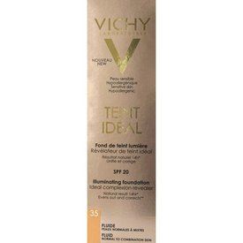 Vichy Teint Ideal Fond de Ten Fluid Nuanţă 35 Rosy Sand Spf 20 30ml