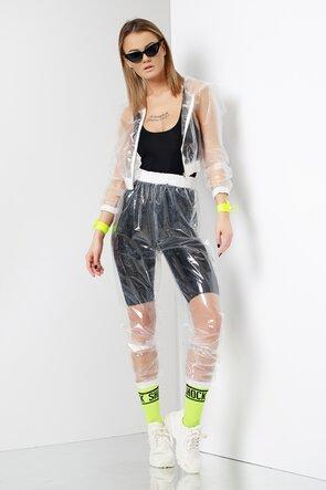 Pantaloni transparenti