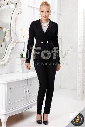 Sacou elegant negru