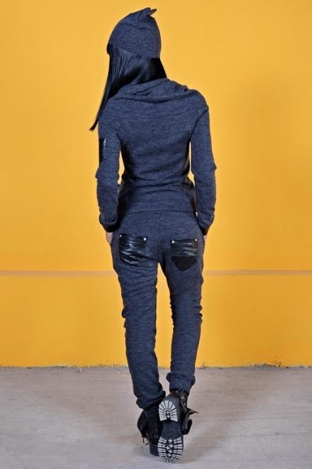 PANTALONI DAMA WILD BLACK PANTS CASUAL